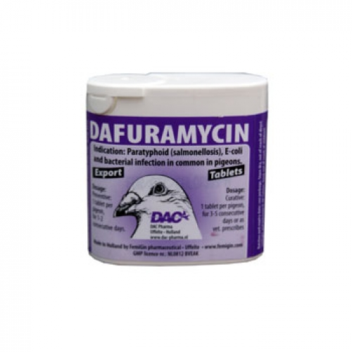 Dafuramycin 50 TABLETS