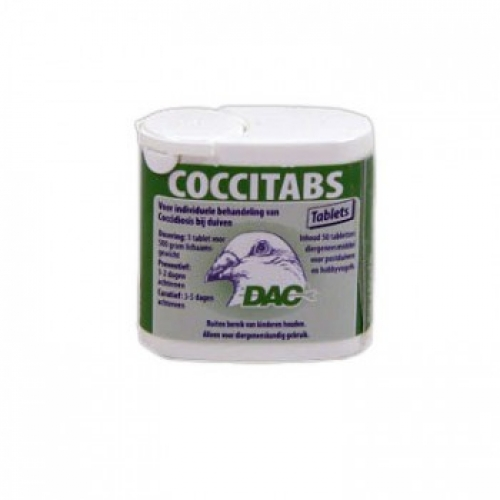 Coccitabs 50 Tablets