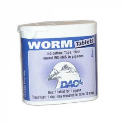 Worm Tabs 50 Tablets